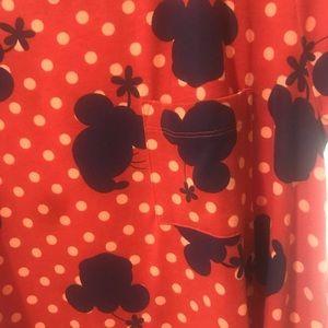 LulaRoe Disney Carly - Minnie Mouse